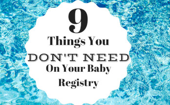9 Things You Don't Need on Your Baby Registry