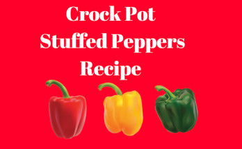 crock pot stuffed pepper recipe
