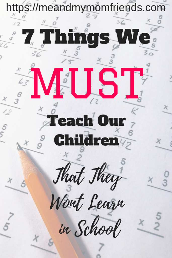 things we must teach children