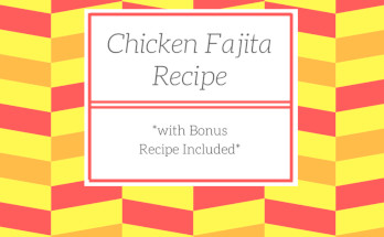 recipe, chicken, fajita, mexican, easy, dinner