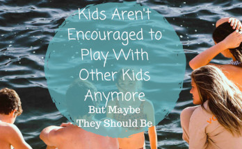 encouraging kids to play together