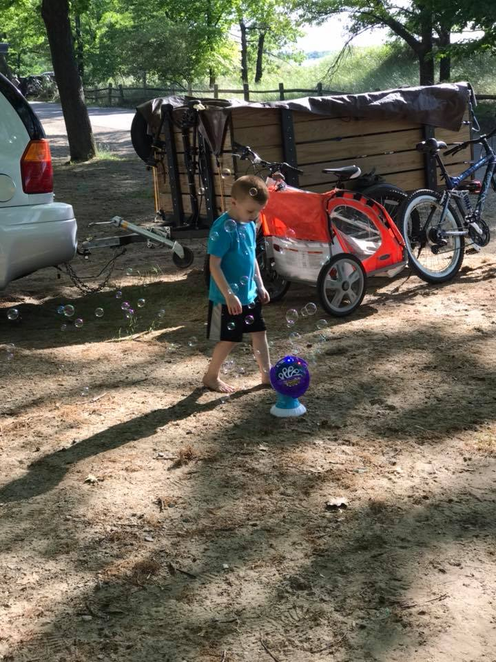 camping with a toddler hacks