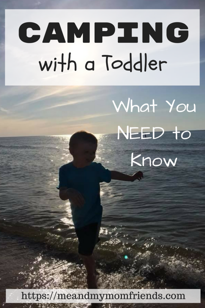 camping with a toddler free printable checklist