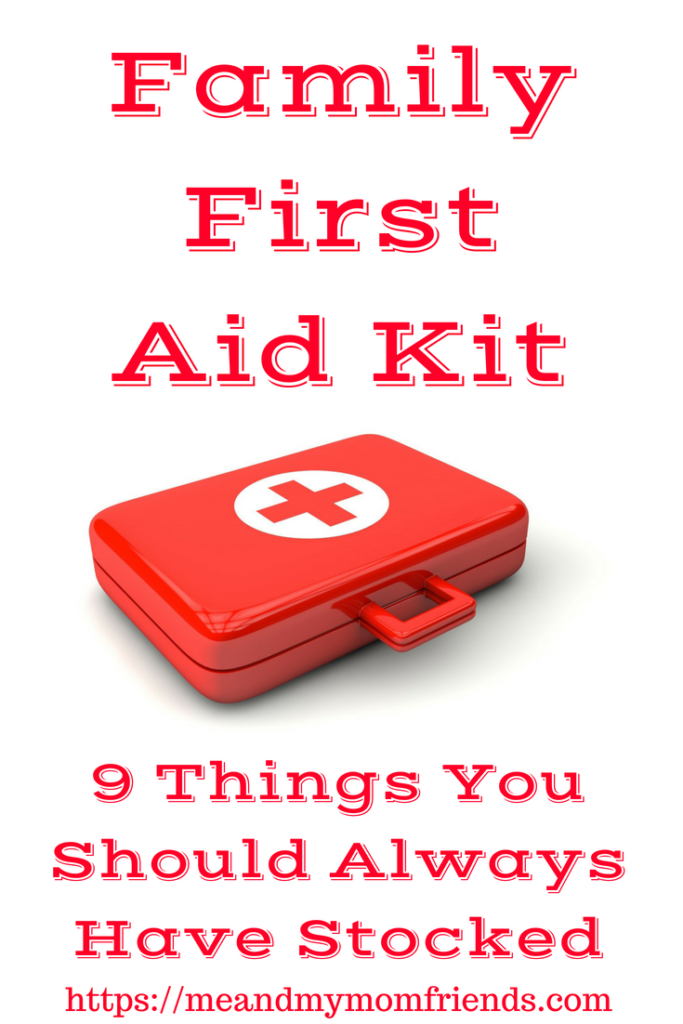 Family First Aid Kit, essential, must-have, supplies, family, baby, toddler, children, adults