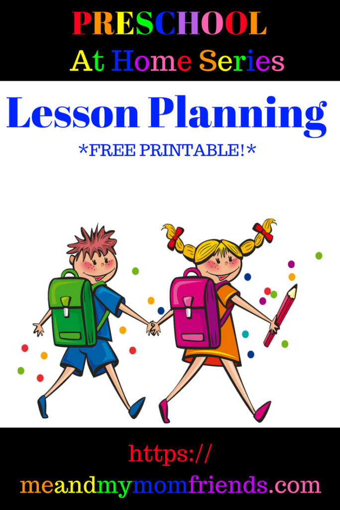 preschool at home, lesson planning, subjects, themes