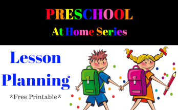 preschool at home, lesson planning, subjects, themes, learning, homeschool, preschool, pre-k, free printable