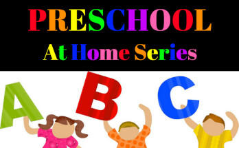 Preschool at Home, Homeschool, preschool, learning, toddlers, preschoolers