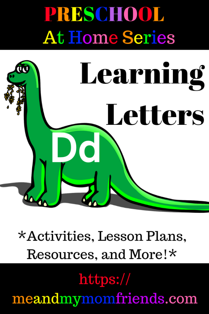 preschool at home, homeschool, learning, teaching, alphabet, letter D, projects, crafts, ideas, themes, books, resources, free printable