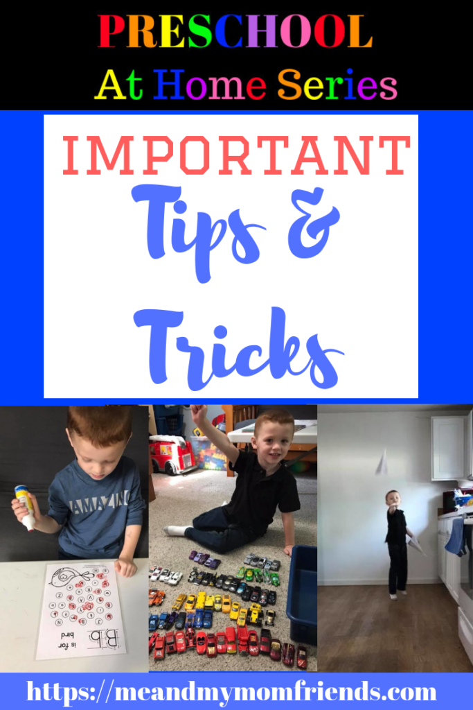 preschool at home, tips, tricks, ideas, advice, learning, teaching, preschoolers